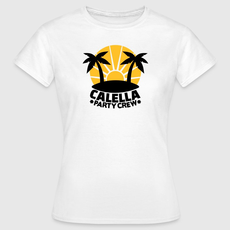 Calella Party Crew T-Shirts - Frauen T-Shirt