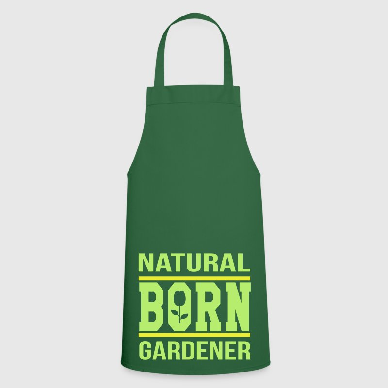 Natural born gardener  Aprons - Cooking Apron