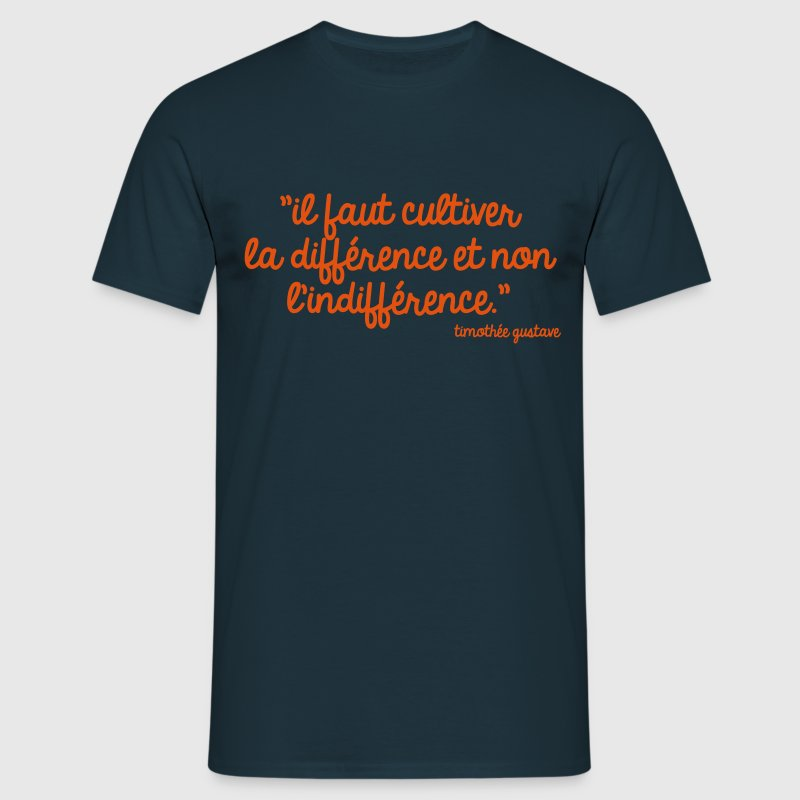 Cultivons la différence Tee shirts - T-shirt Homme