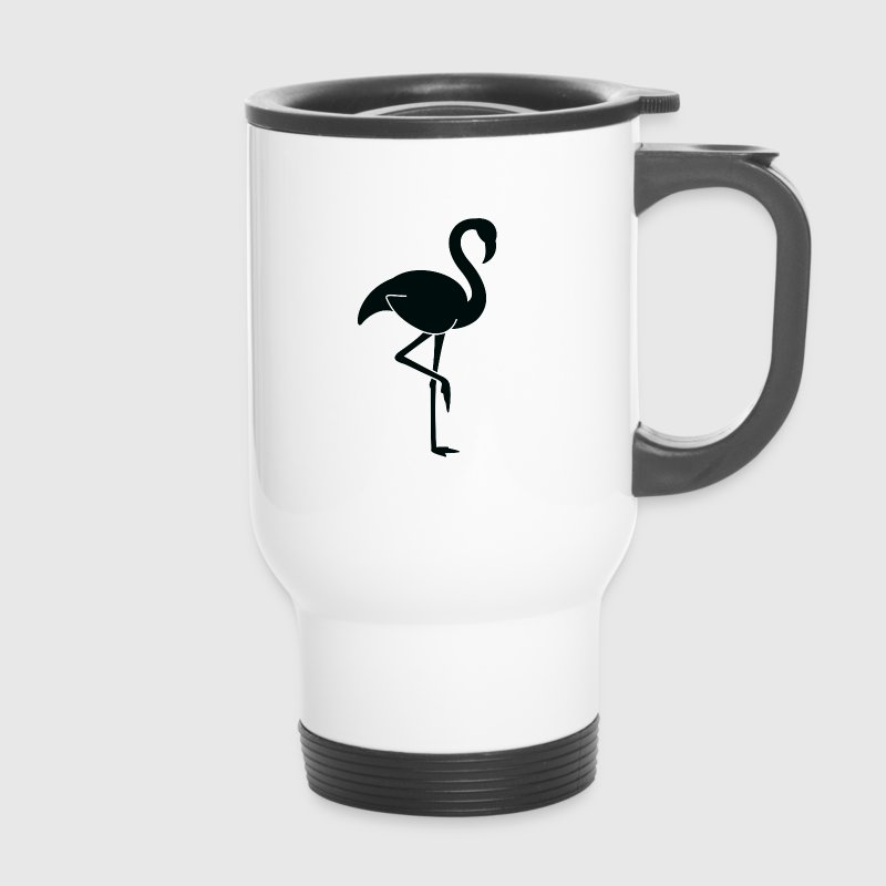 A pretty Flamingo Mugs & Drinkware - Travel Mug