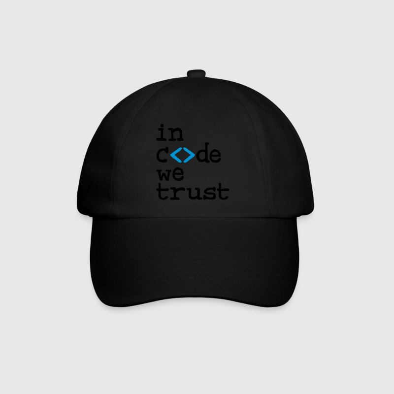 in code we trust ! Caps & Hats - Baseball Cap