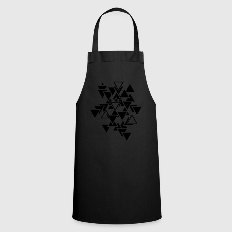 Triangles motif graphique Tabliers - Tablier de cuisine