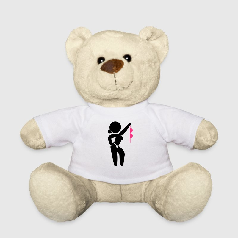 A stripper with bare breasts Teddy Bear Toys - Teddy Bear