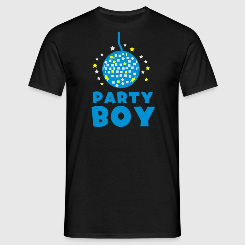 Party boy with disco ball  T-Shirts - Men's T-Shirt