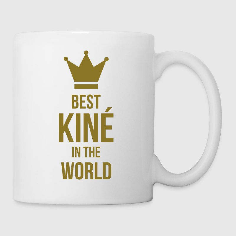 Best Kiné in the world Bouteilles et Tasses - Tasse