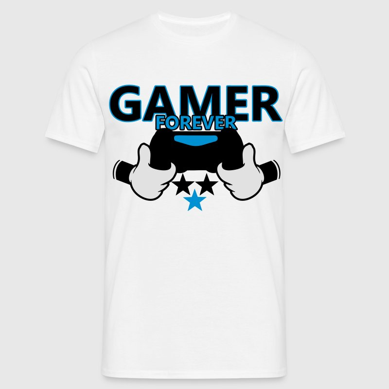 T-shirt Mickey gamer - T-shirt Homme