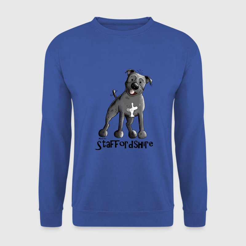 Drôle Staffordshire Bull Terrier Sweat-shirts - Sweat-shirt Homme