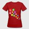 Flower Power T-Shirt - Frauen Bio-T-Shirt