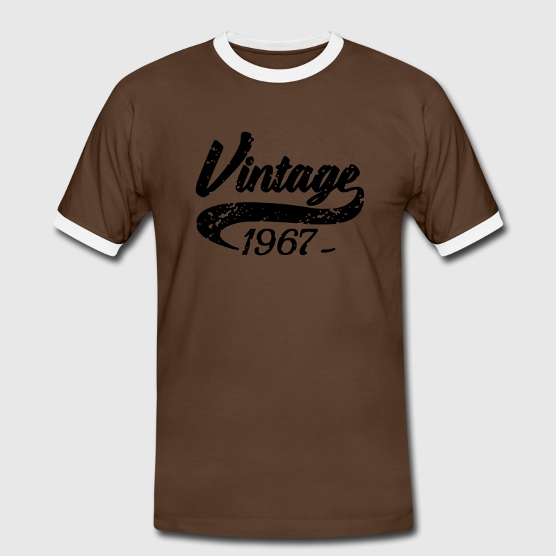 Vintage 1967 Tee shirts - T-shirt contraste Homme