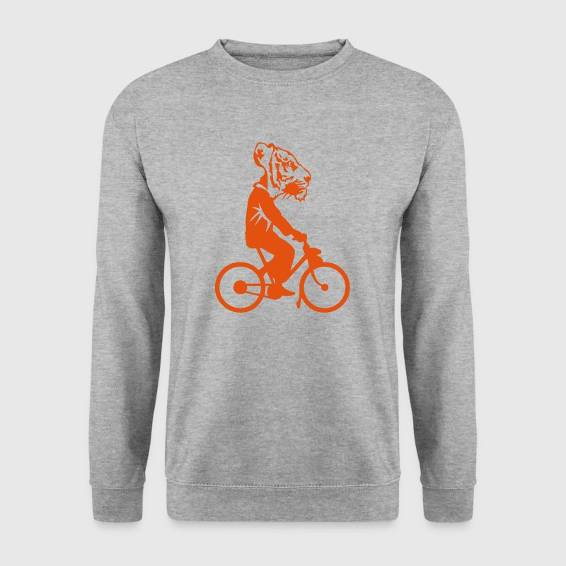 tigre tete velo profil homme 0 Sweat-shirts - Sweat-shirt Homme