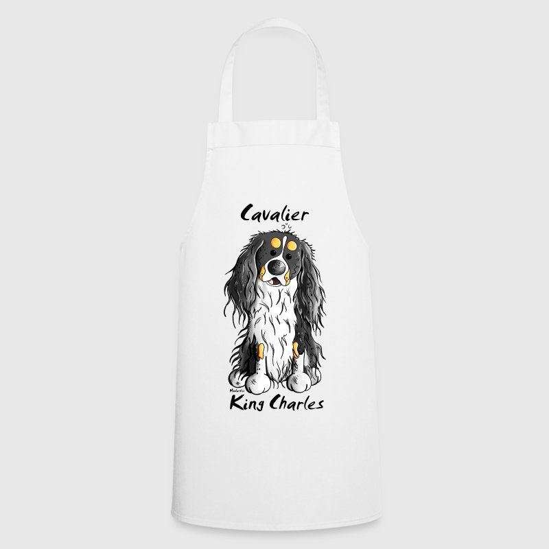 Cute Cavalier King Charles Spaniel  Aprons - Cooking Apron