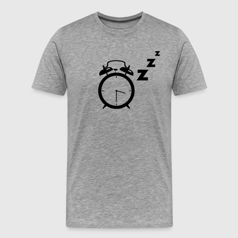 Sleeping Alarm Clock T-Shirts - Men's Premium T-Shirt