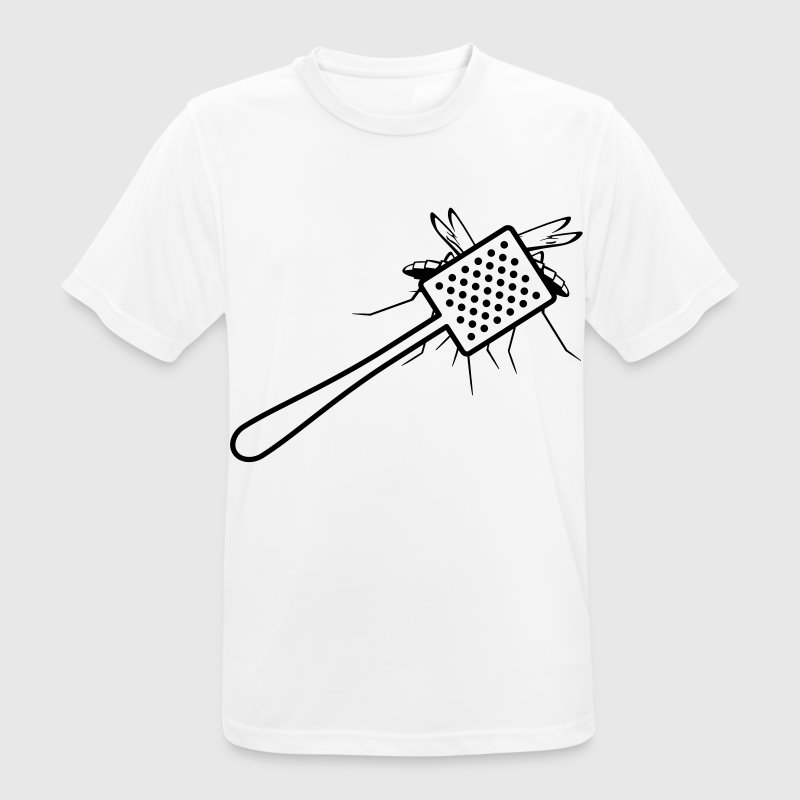 A fly swatter kills a mosquito T-Shirts - Men's Breathable T-Shirt