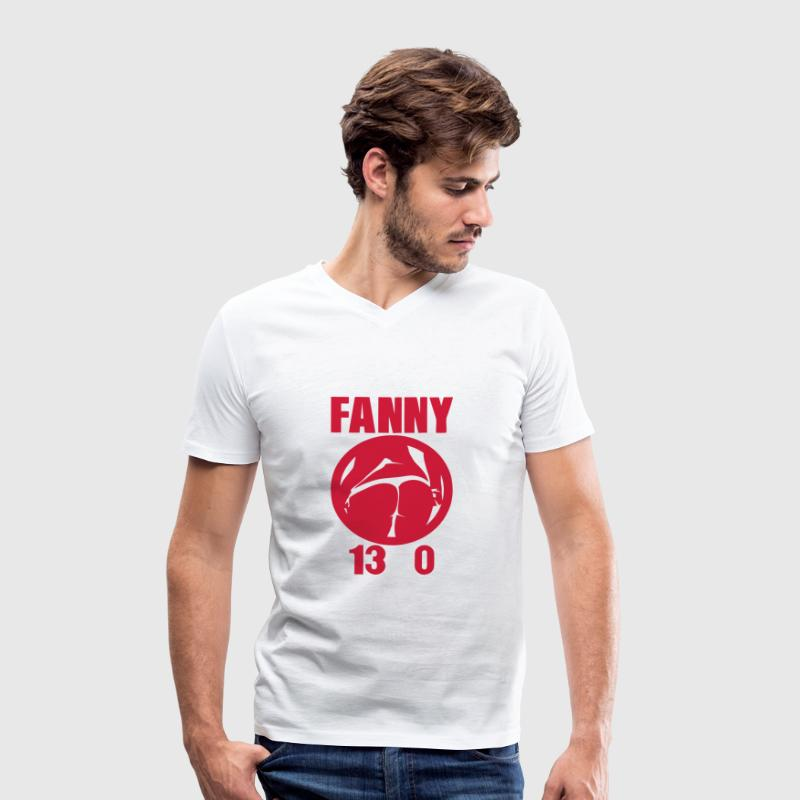 fanny 13 0 petanque fesse fille cul sexy Tee shirts - T-shirt bio col en V Stanley & Stella Homme