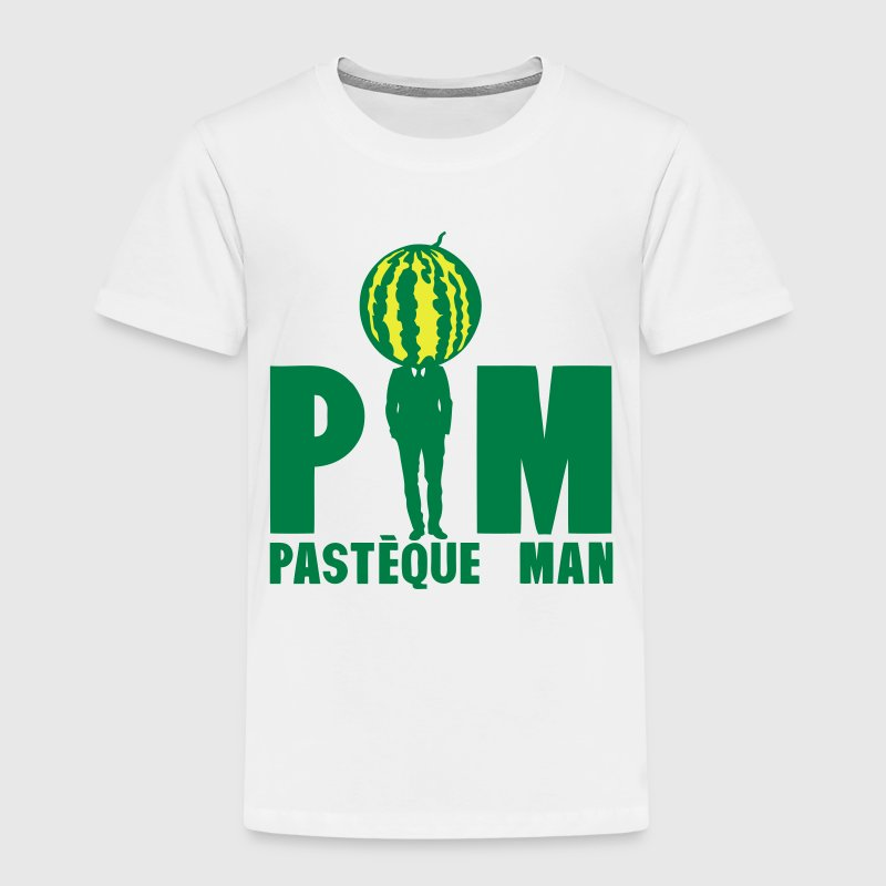 pasteque man homme costume cravate 1612 Tee shirts - T-shirt Premium Enfant