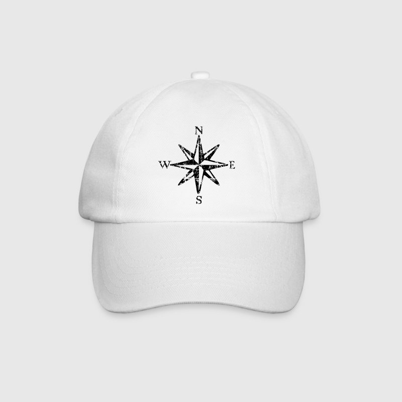 Wind Rose Vintage NESW (EU) Caps & Hats - Baseball Cap
