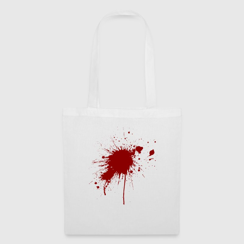 Blood spatter from a bullet wound Bags & Backpacks - Tote Bag