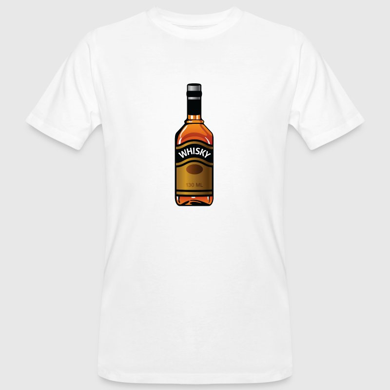 Whiskey bottle T-Shirts - Men's Organic T-shirt