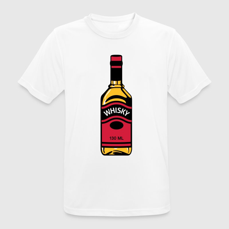 Bouteille de whisky Tee shirts - T-shirt respirant Homme