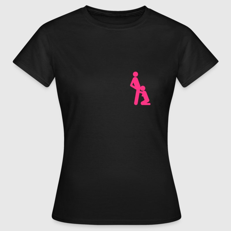 position sex fellation pipe sexe icon Tee shirts - T-shirt Femme