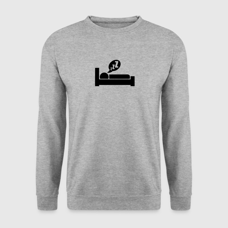 icon dormir sommeil logo symbole 312 Sweat-shirts - Sweat-shirt Homme