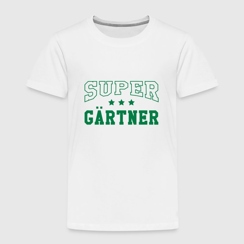 Super Gärtner Skjorter - Premium T-skjorte for barn
