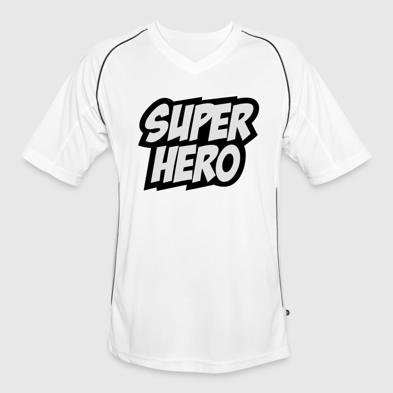 Superhero, Comic, Hero, Super, Boss, Quotes T-Shirts - Men's Football Jersey