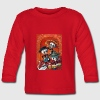 Dia de Los Muertos Musicians Long Sleeve Shirts - Baby Long Sleeve T-Shirt