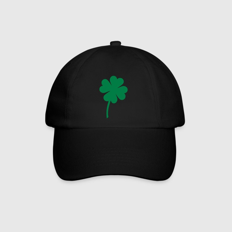clove four / lucky clover Caps & Hats - Baseball Cap
