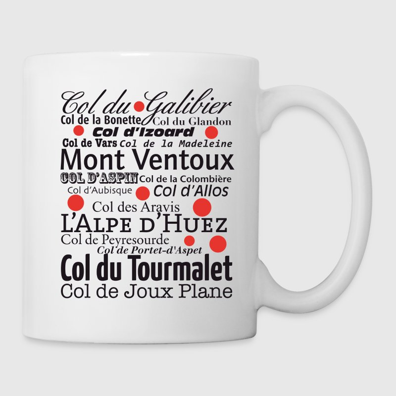 Hors Categorie - die Pässe der Tour de France - Tasse