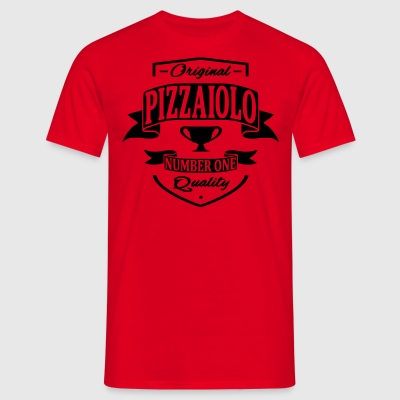 Pizzaiolo Tabliers - T-shirt Homme