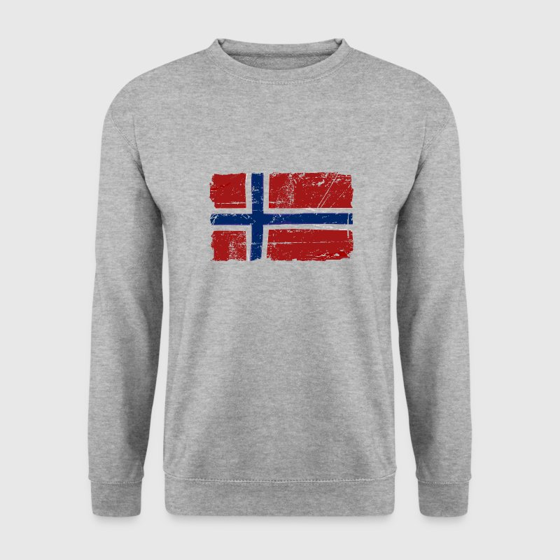 Norway Flag - Vintage Look  Hoodies & Sweatshirts - Men's Sweatshirt