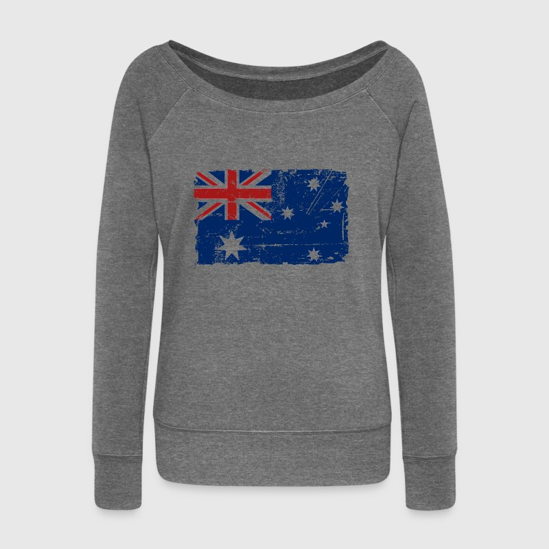Australia - Down Under - Vintage Look  Sweat-shirts - Pull Femme col bateau de Bella
