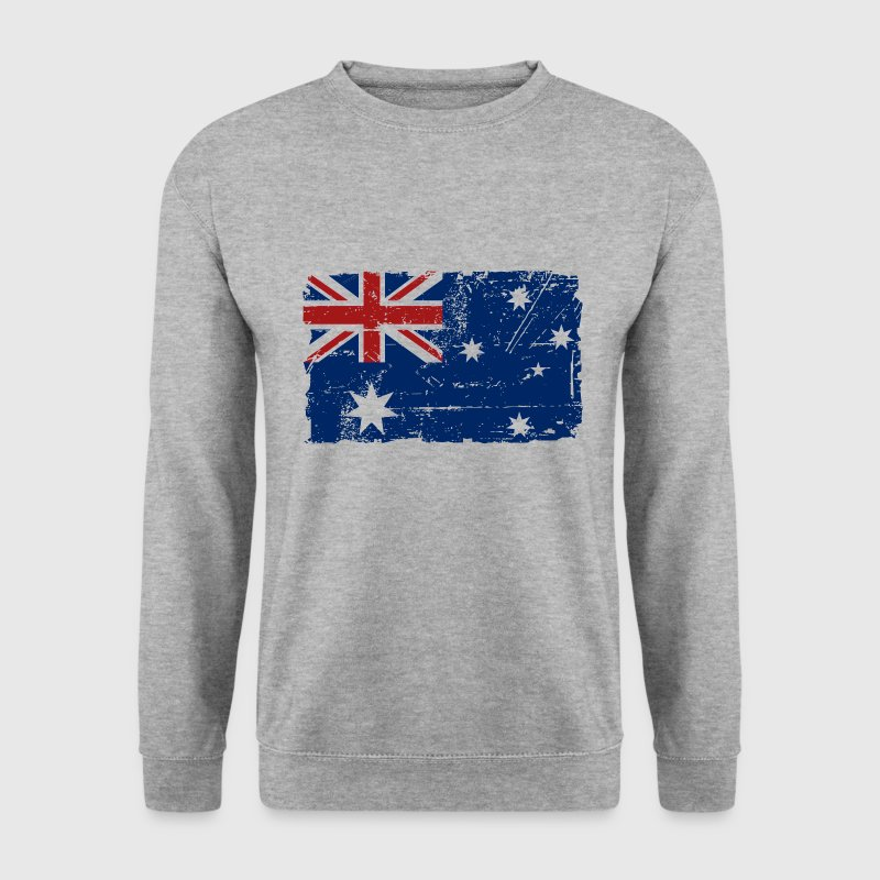 Australia - Down Under - Vintage Look  Hoodies & Sweatshirts - Men's Sweatshirt