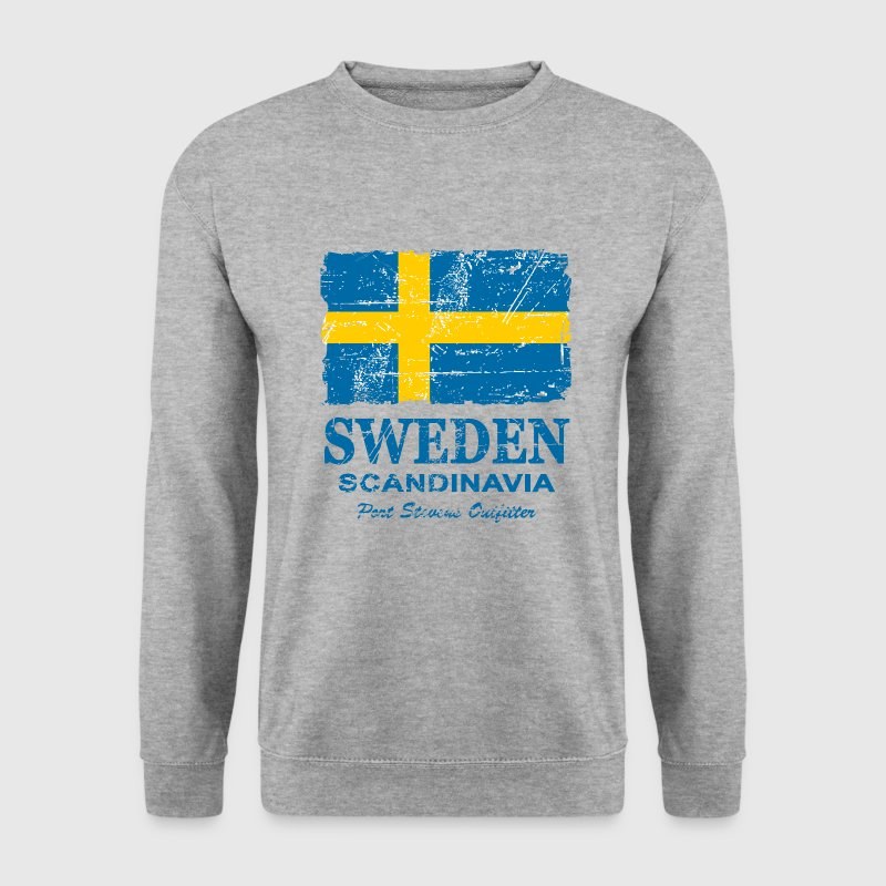 Sweden  - Vintage Look  Hoodies & Sweatshirts - Men's Sweatshirt
