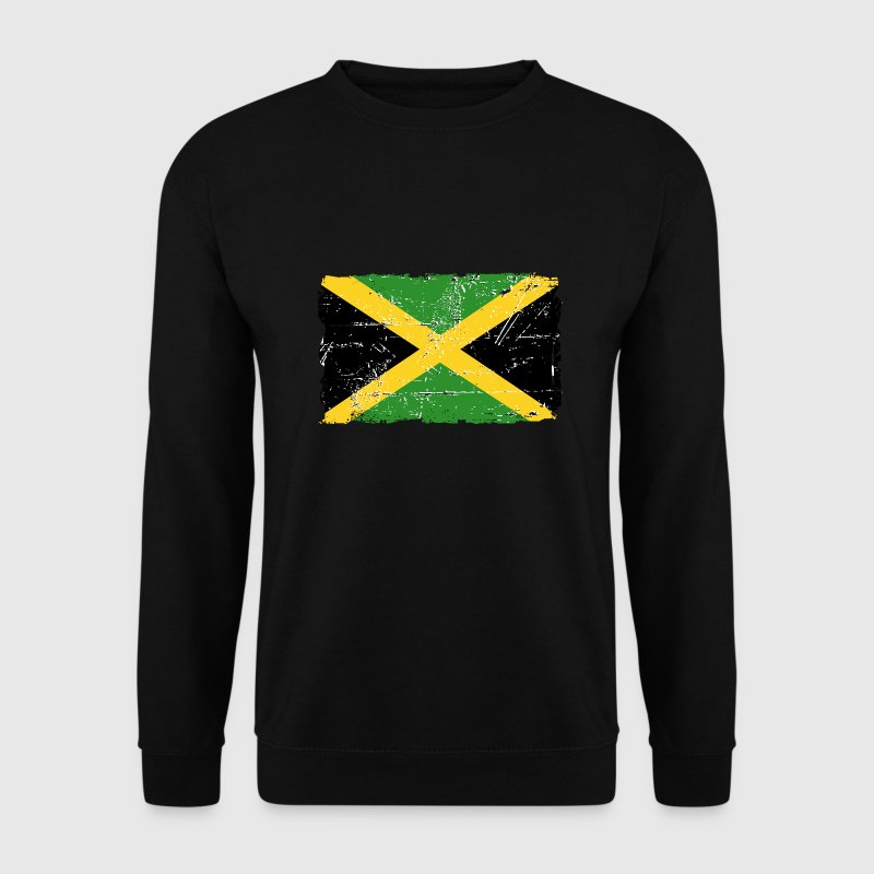 Jamaica - Reggae - Vintage Look  Sweat-shirts - Sweat-shirt Homme