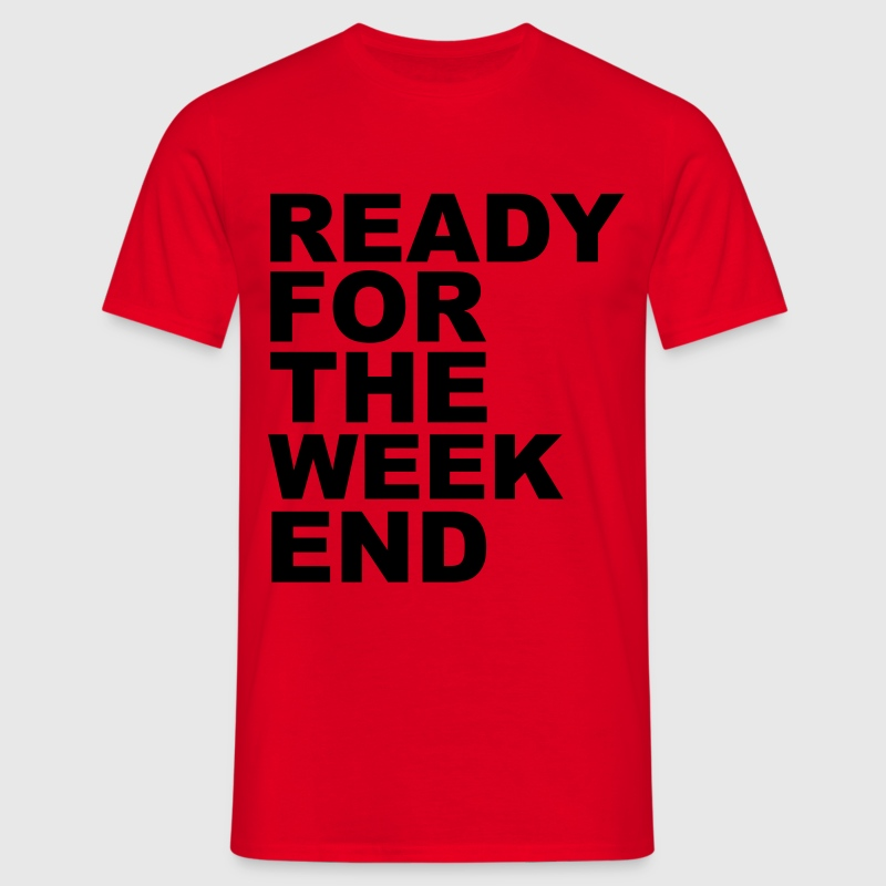 Weekend T-Shirts - Männer T-Shirt