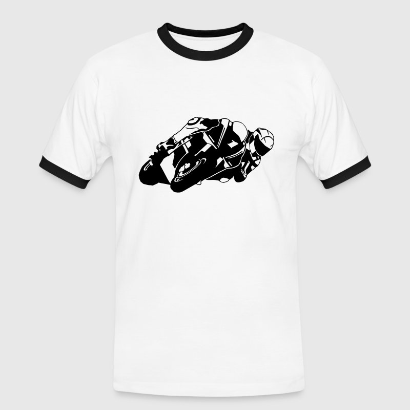 Moto-GP Tee shirts - T-shirt contraste Homme