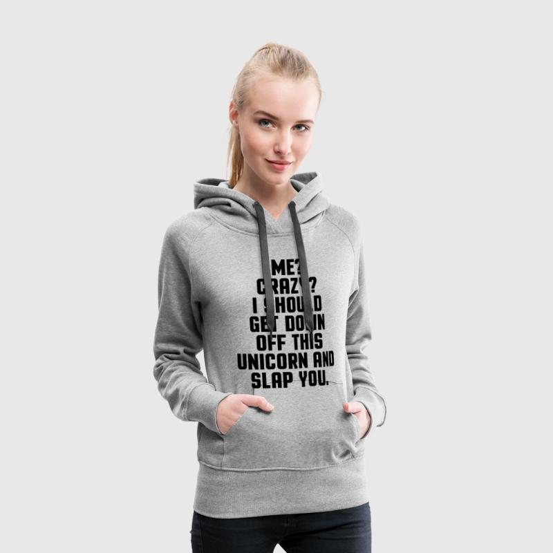 Down Off This Unicorn  Hoodies & Sweatshirts - Women's Premium Hoodie