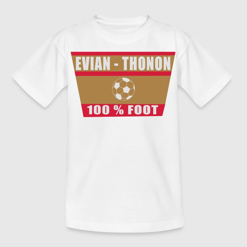 Evian Thonon football Tee shirts - T-shirt Ado