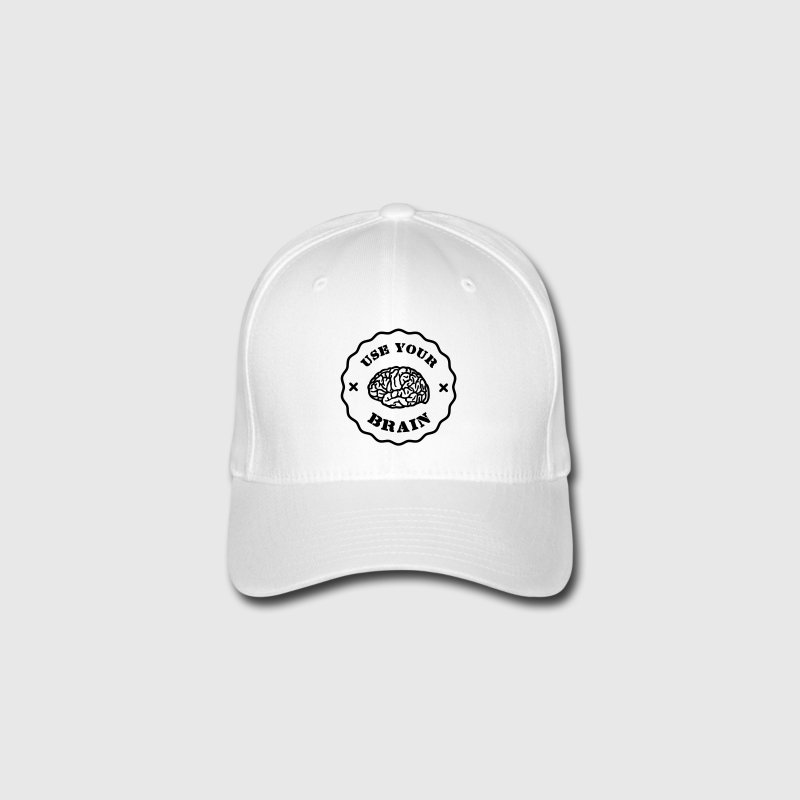 Use Your Brain - Funny Statement / slogan Kasketter & Huer - Flexfit baseballcap