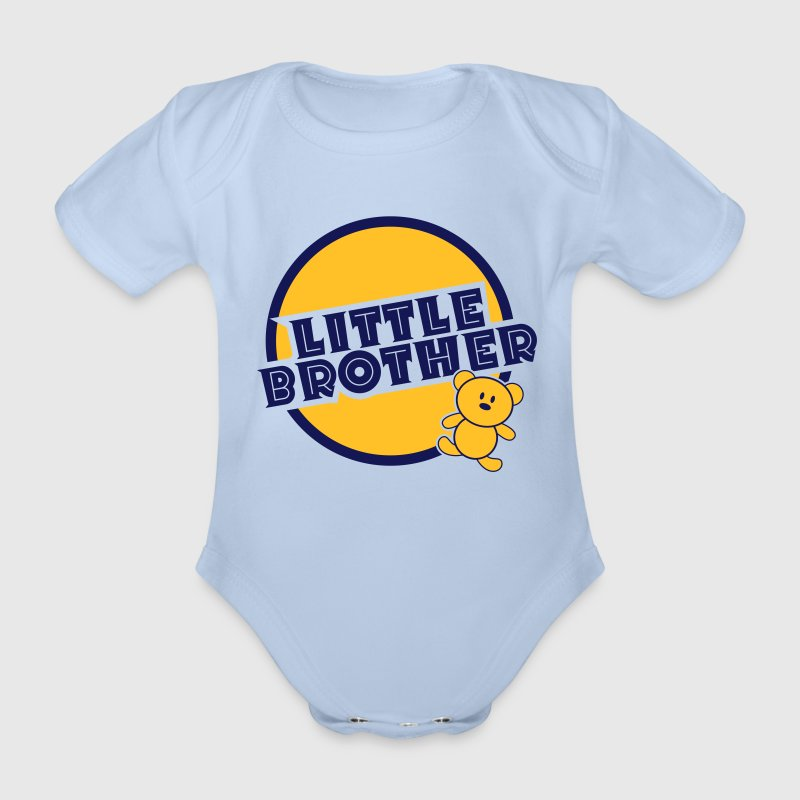 Little Brother Shirts - Organic Short-sleeved Baby Bodysuit
