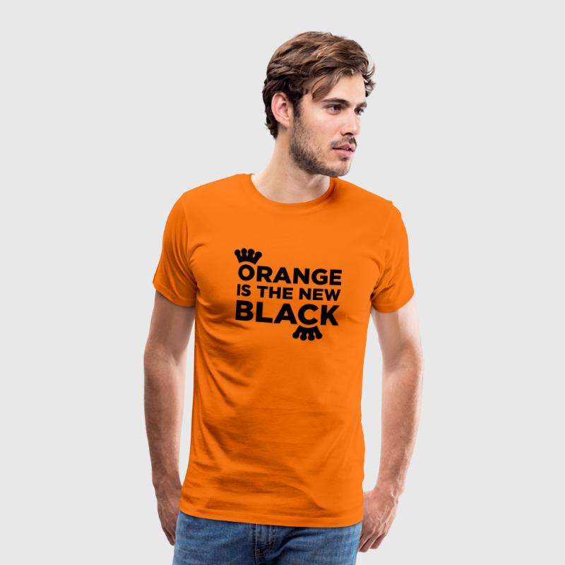 Orange is the new black T-shirts - Mannen Premium T-shirt