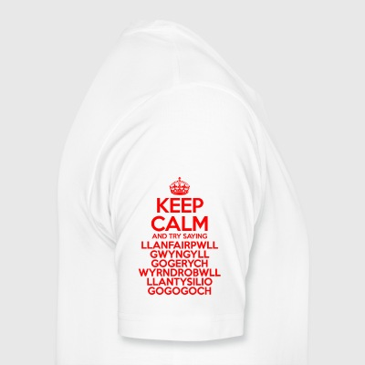 Keep Calm Llanfair Mug - Men's Premium T-Shirt