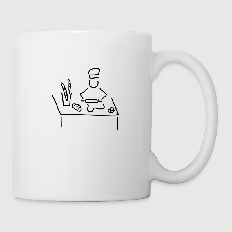 baecker brot backen - Tasse