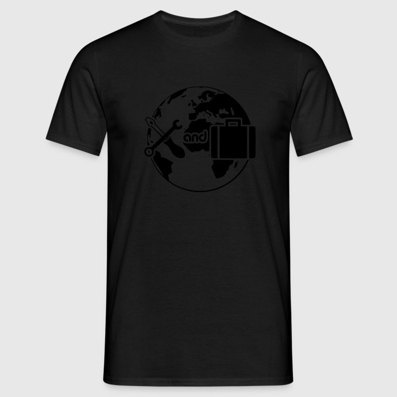 Work and Travel T-Shirts - Männer T-Shirt