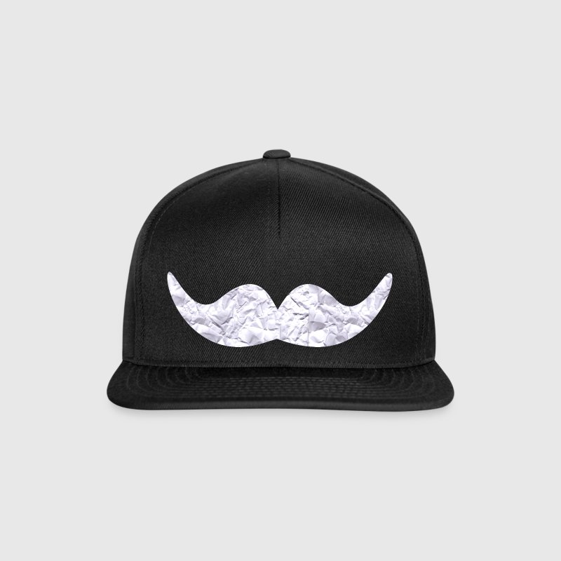 Mustache made of paper Caps & Hats - Snapback Cap