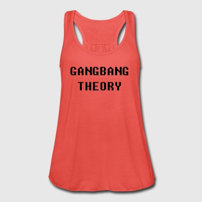 gangbang theory.png T-Shirts - Women's Tank Top by Bella