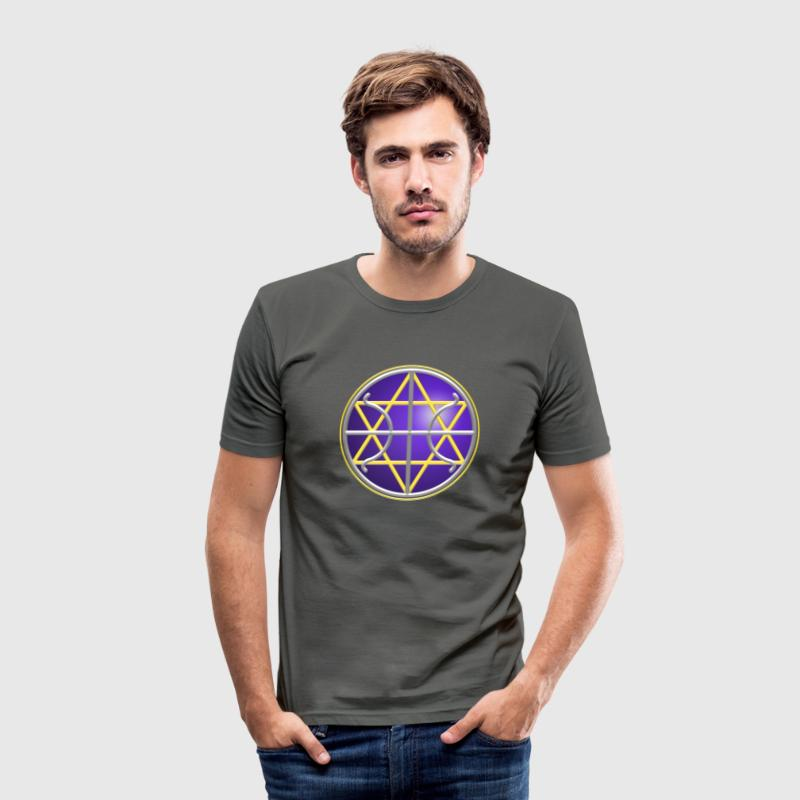 SEAL - GALACTIC FEDERATION OF LIGHT - Men's Slim Fit T-Shirt