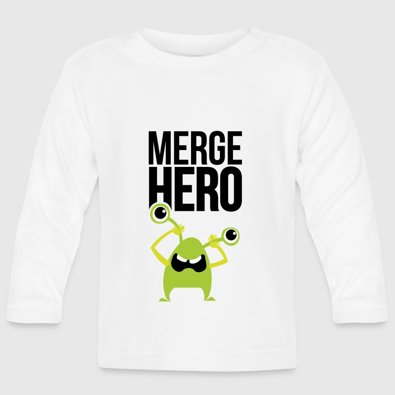 Monster Merge Hero 1 Long Sleeve Shirts - Baby Long Sleeve T-Shirt